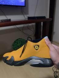 Jordan 14 ferrari yellow
