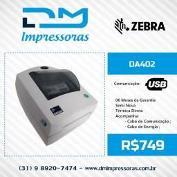 Impressora de Etiquetas Zebra Da402