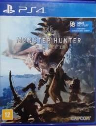 Título do anúncio: Monster Hunter World PS4