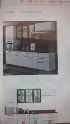 Vendo guarda roupa e armário de cozinha 1.500,00 cada