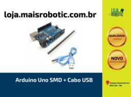 Arduino Uno SMD + Cabo USB