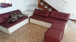 Apartamento mobiliado na Pituba, quarto e sala, nascente, varanda duplex.