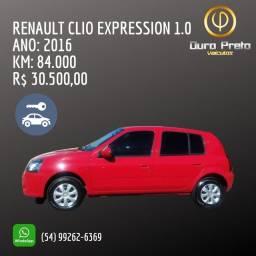 RENAULT CLIO EXPRESSION 1.0/20 - OURO PRETO VEÍCULOS