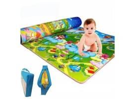 Título do anúncio: Tapete De Atividades Infantil Dulpla Face 1,80x1,20m Anti Té - CCT
