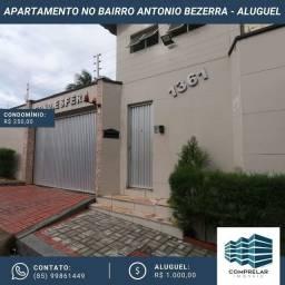 Apartamento com 3 dormitórios para alugar, 117 m² por R$ 1.000/mês - Antônio Bezerra - For