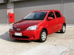 Sem entrada em 60x 1.190,00 -  Toyota - Etios X 1.3 Flex 16V Mec - 2016