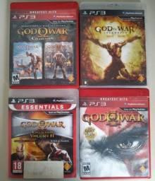 Coleção God of War Ps3 Mídia Física (6 Jogos)