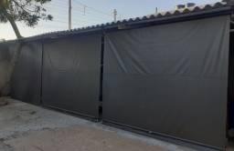 Cortinas retrátil 120m² (Sistema de Mola)