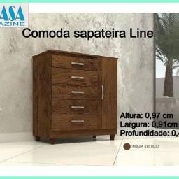 Cômoda sapateira LINE