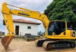 Escavadeira hidráulica komatsu pc160 2016