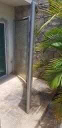 Biombo divisória de vidro curvo