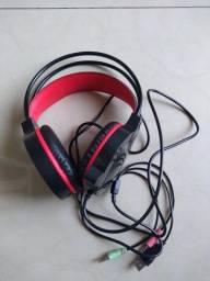 Headset Snake P2, USB.  P/ PC Gamer