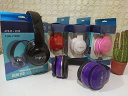 Headphone via Bluetooth ( Ideal para Jogos )