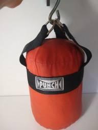 Saco de Pancada Pequeno 30x20cm  Marca Punch
