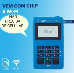 Maquina de  Cartao Mini Chip Mercado pago D175