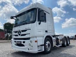 Mercedes-benz Actros Mb 2651 6x4 2018 Baixo Km/ Financiamos