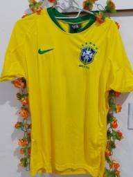 Título do anúncio: Camisa do Brasil Masculino e no feminino