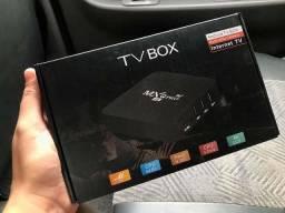 Título do anúncio: Tv Box 64 ram Android 11.1