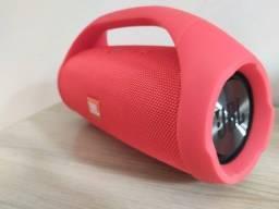 Caixa de Som Potente JBL Boombox Vermelha 30cm