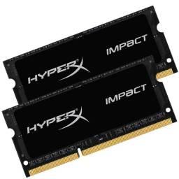 Memória Kingston Hyperx DDR3  8GB 1600MHZ para notebook