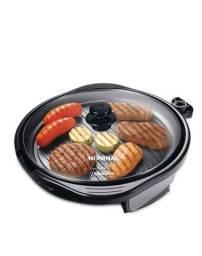 Grill e cook Mondial Redondo 40 cm preto 110 V