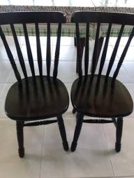 Cadeiras de Imbuia para Restaurante