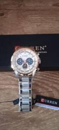 Relógio Masculino Curren Militar de Luxo Quartzo 8355