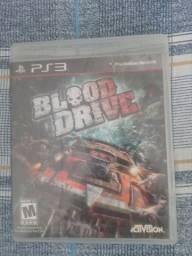 Jogo blood drive PS3