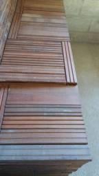 Tacão de madeira jatobá