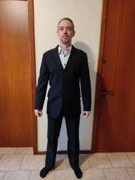 Título do anúncio: Costume masculino (calça e paletó) preto TNG
