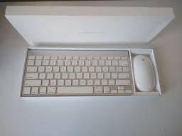 Teclado Magic e Mighty Mouse Apple Wi-fi (Semi-novos)