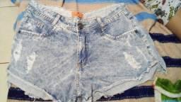Título do anúncio: Short jeans da palooza so 30 reais