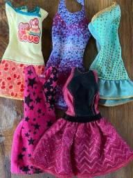 Vestidos da Barbie pela SHOPEE