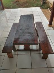 Mesa madeira rústico