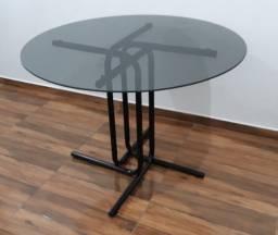 Título do anúncio: Mesa redonda com 4 cadeiras