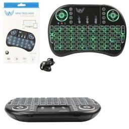 Mini teclado led wireless altomex