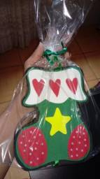 Porta Pano de Prato natalino