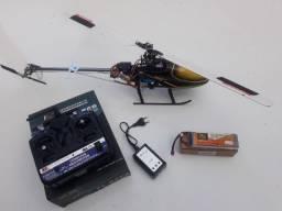 Trex 450 Se V2 Flybarless Completo, Seminovo.