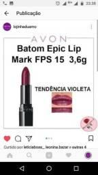 Batom tendência violeta avon epi lip