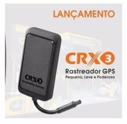 Rastreador e Bloquqeador CRX3 New Concox Ideal para moto ou carro homologado Anatel