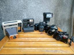 Leia a descrição Câmera fotográfica antiga
