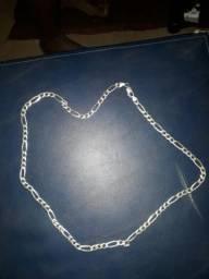 Cordao de prata vendo ou troco por celular
