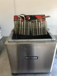 Fritadeira croydon água e óleo