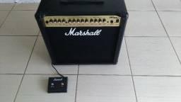Amplificador Marshall MG50DFX com Foot