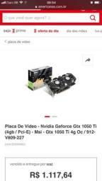 Placa de video gtx 1050Ti