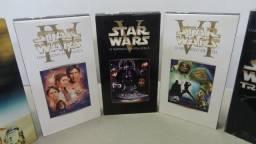 Coleção Star Wars Trilogia Clássica Dublado VHS