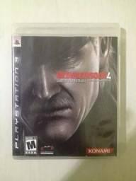 Metal Gear Solid 4 - Jogo De Ps3 - Usado