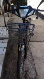 Bicicleta eletrica muito nova