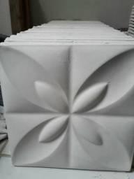 Placas Gesso 3D R$ 2,90 cada