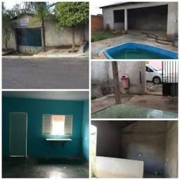 Casa c/ piscina 1Q novo paraiso 2 em cuiabá Pega Carro negócio